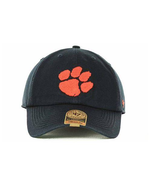 4d9634fbc7964 ... promo code for 47 brand clemson tigers franchise cap sports fan shop by  lids men macys ...