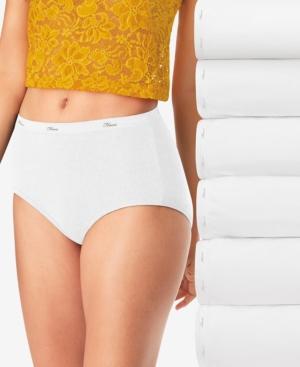 Women's 6-Pk. Cool Comfort Cotton Brief Underwear PP40WH