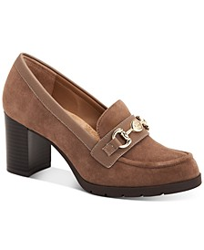 Porshaa Loafer Dress Pumps, Created for Macy's