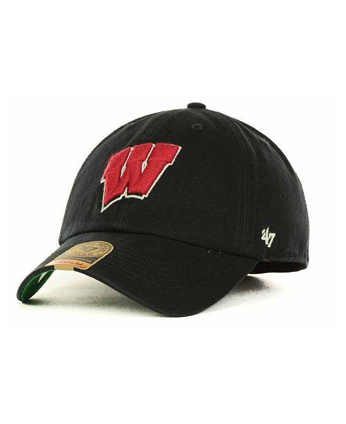47 Brand Wisconsin Badgers Franchise Cap - Sports Fan Shop By Lids ... 2471ded5f