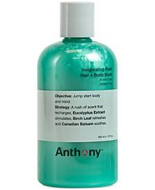 Invigorating Rush Hair & Body Wash, 12 oz