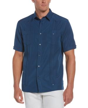 Men's Guayabera Dash Print Shirt