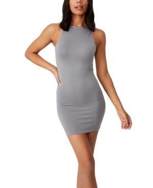 Women's Junie Seamless High Neck Tank Mini Dress