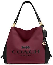 Horse and Carriage Jacquard Dalton 31 Shoulder Bag