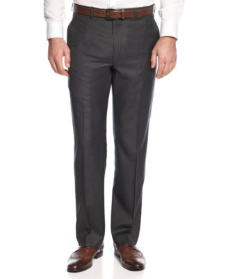 Dark Grey Dress Pants G3mKUKQS