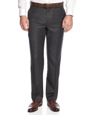 Dark Grey Dress Pants G3mKUKQS