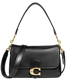 Tabby Soft Leather Shoulder Bag