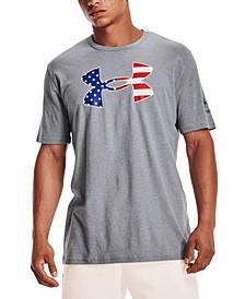 Men's New Freedom Flag Logo Graphic T-Shirt