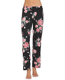 Floral Pajama Bottoms