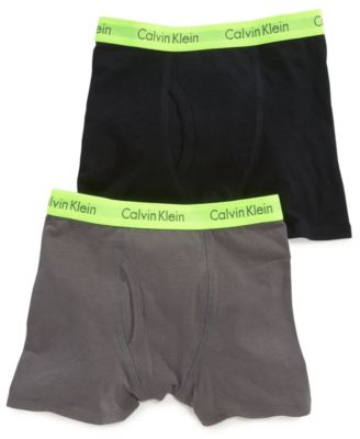 Image of Calvin Klein Boys' or Little Boys 2-Pack Boxer Briefs