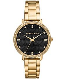 Women's Pyper Gold-Tone Stainless Steel Bracelet Watch 38mm