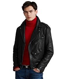 Men's Iconic Leather Motorcycle Jacket