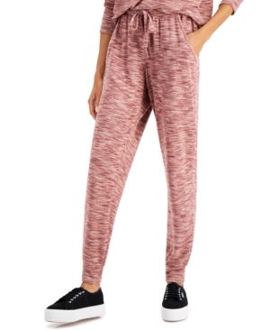 Juniors' Hacci Knit Jogger Pants