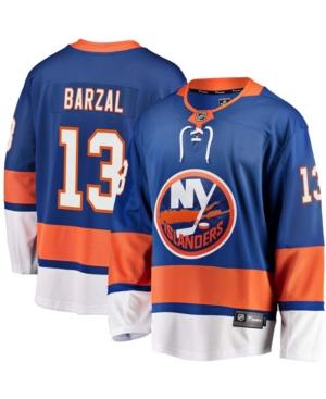 Men's Mathew Barzal Royal New York Islanders Home Premier Breakaway Player Jersey
