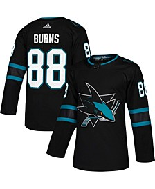 Men's Brent Burns Black San Jose Sharks Alternate Authentic Player Jersey