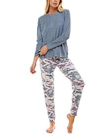 Whisper Luxe Waffled Pajama Set