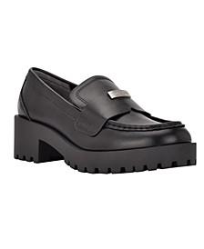 Women's Marli Lug Sole Casual Loafers