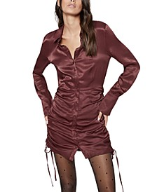Sui Cinched Side Shirtdress