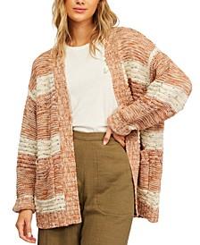 Juniors' So Cozy Cardigan Sweater