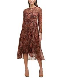 Casbah Printed Midi Dress