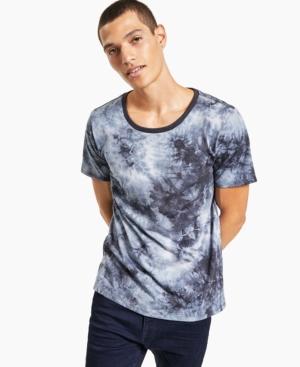 Men's Gray Tie-Dye T-Shirt