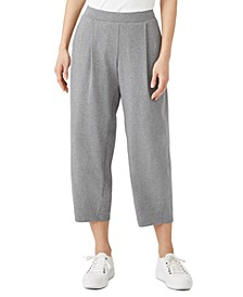 Organic Cropped Lantern Pants