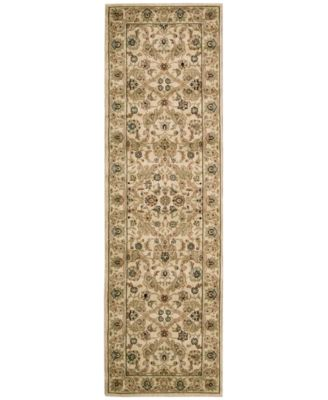 """Home Lumiere Royal Countryside Beige 2'3"""" x 7'9"""" Runner Rug"""