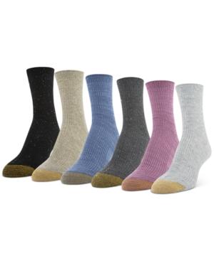 6-Pk. Lola Nep Short Crew Socks