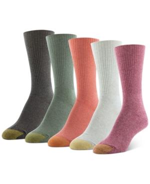 6-Pk. Multi-Color Turn Cuff Socks