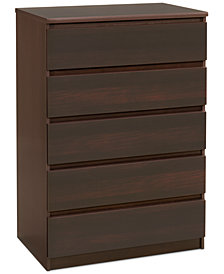 Essex Ready-to-Assemble 5 Drawer Chest, Quick Ship