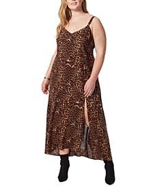 Trendy Plus Size Tennyson Printed Slip Dress