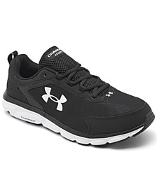 Men's Charged Assert 9 Wide Width Running Sneakers from Finish Line