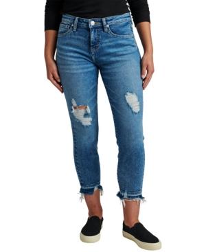 Jeans Women's Carter Mid Rise Girlfriend Jeans