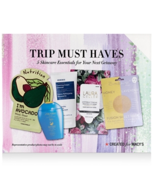 5-Pc. Trip Must Haves Skincare Set, Created For Macy's