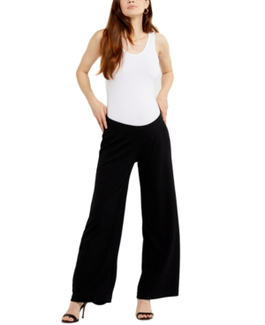 Under Belly Wide-Leg Maternity Pants