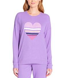 Butter Jersey Long Sleeve Crewneck Pajama Top