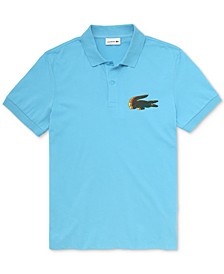 Men's Ombre Croc Polo Shirt, Created for Macy's