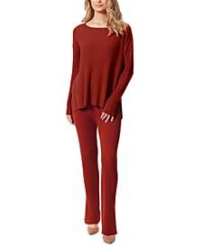 Arlette Side-Slit Sweater