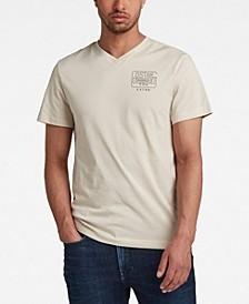 Men's Back Logo Slim Fit T-Shirt