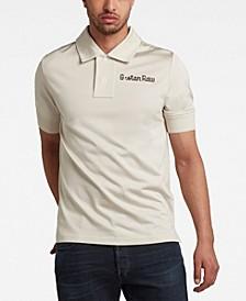 Men's Embroidered Logo Polo Shirt