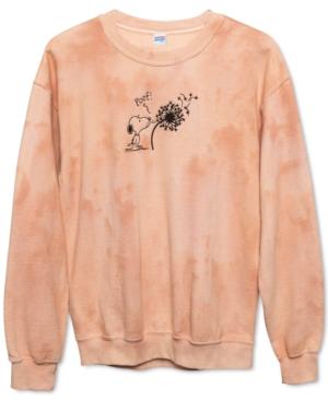 Snoopy Dandelion Fleece Sweatshirt