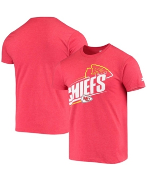 Men's Heathered Red Kansas City Chiefs Prime Time T-shirt