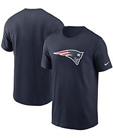 Men's Navy New England Patriots Primary Logo T-shirt