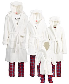 Matching Bear Robe & Slipper Collection