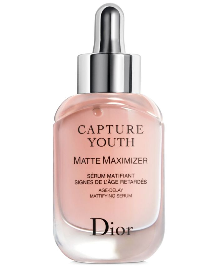 Dior Capture Youth Matte Maximizer Age-Delay Mattifying Serum & Reviews - Skin Care - Beauty - Macy's
