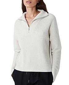 Lana Half-Zip Sweater