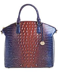 Large Duxbury Leather Satchel