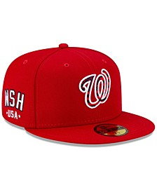 Washington Nationals 4th of July On-Field 59FIFTY Fitted Cap
