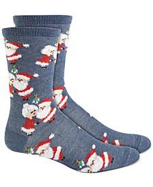 Santa & Mrs. Claus Socks, Created for Macy's