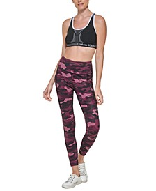 Women's Printed Side-Pocket Tights
